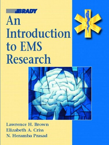 9780130186836: Introduction to EMS Research
