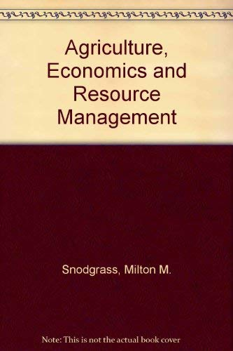 9780130188120: Agriculture, Economics and Resource Management