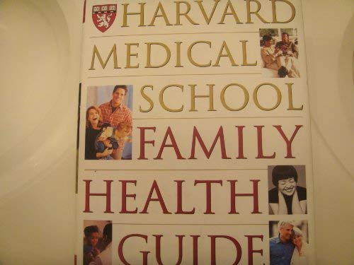 9780130189608: Harvard Medical School Family Health Guide