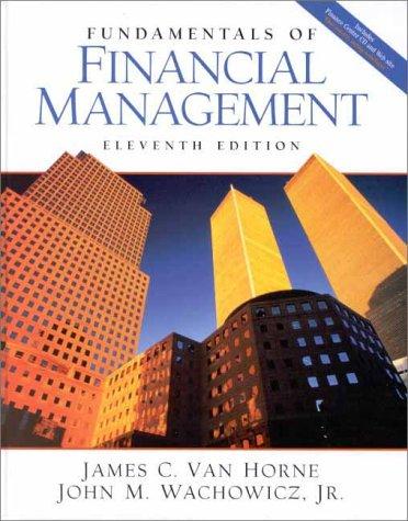 9780130189981: Fundamentals of Financial Management