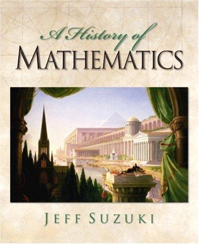 9780130190741: A History of Mathematics