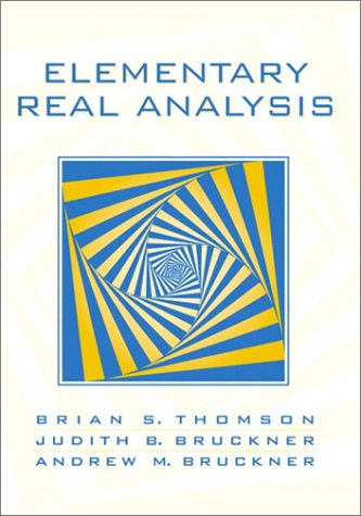 9780130190758: Elementary Real Analysis