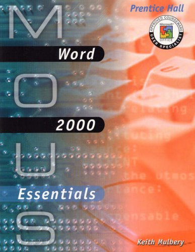 9780130191069: Word 2000 (MOUS Essentials)