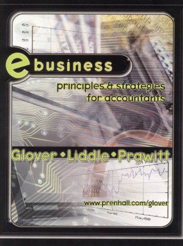 9780130191786: E-Business: Principles and Strategies for Accountants