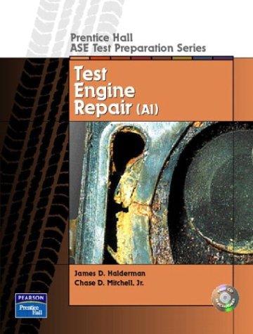 9780130191809: Prentice Hall ASE Test Preparation Series: Engine Repair (A1)