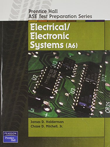 9780130191878: Prentice Hall ASE Test Preparation Series: Electrical and Electronic Systems (A-6)