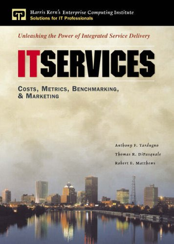 9780130191953: IT Services: Costs, Metrics, Benchmarking, and Marketing (Enterprise Computing)