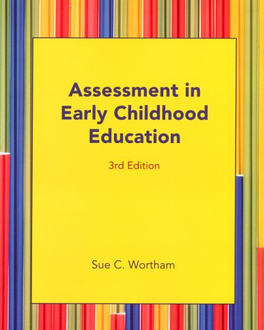 9780130193421: Assessment in Early Childhood Education (3rd Edition)