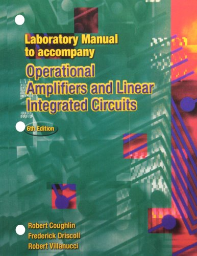 9780130193773: Laboratory Manual to accompany Operational Amplifiers and Linear Circuits