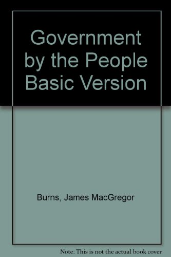 9780130194251: Government by the People Basic Version
