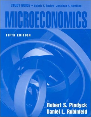 "9780130195074: A Study Guide to ""Microeconomics, 5th Edition"""
