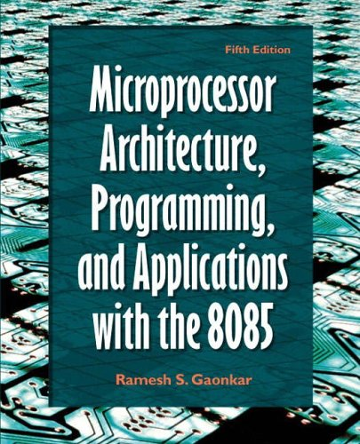 9780130195708: Microprocessor Architecture, Programming, and Applications with the 8085 (5th Edition)