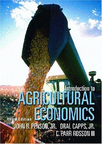 9780130195722: Introduction to Agricultural Economics (3rd Edition)