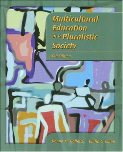 9780130196187: Multicultural Education in a Pluralistic Society (6th Edition)