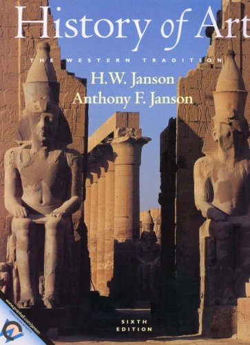 HISTORY OF ART; THE WESTERN TRADITION; SIXTH: Janson, H. W.;