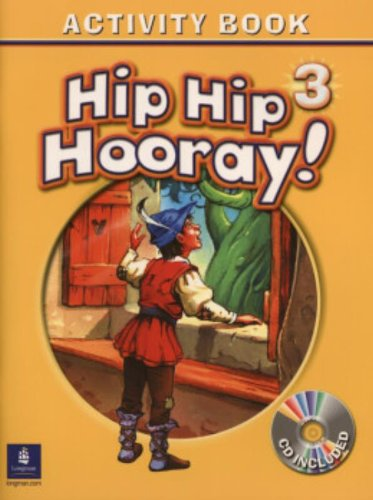 9780130197931: Hip Hip Hooray Student Book (with Practice Pages), Level 3 Activity Book (with Audio CD): Activity Book Level 3