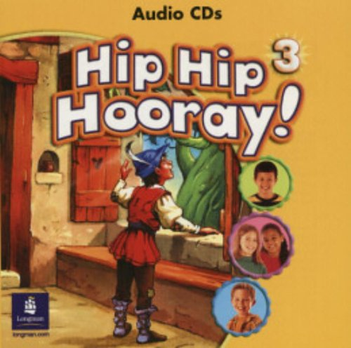9780130197979: Hip Hip Hooray Student Book (with practice pages), Level 3 Audio CD