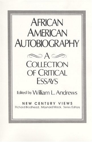 9780130198457: African-American Autobiography: A Collection of Critical Essays (New Century Views)