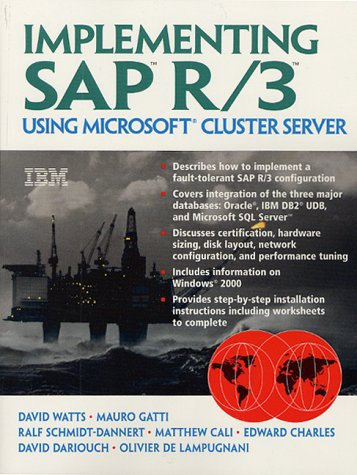 9780130198471: Implementing Sap R/3 Using Microsoft Cluster Server