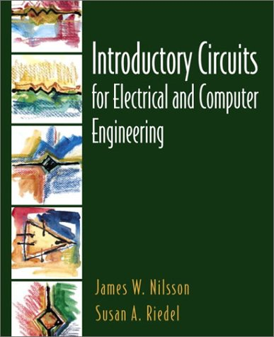 9780130198556: Introductory Circuits for Electrical and Computer Engineering: United States Edition