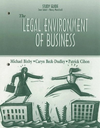 9780130199089: The Legal Environment of Business
