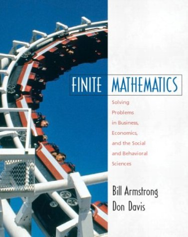9780130199584: Finite Mathematics