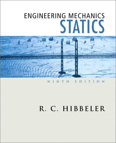 9780130200051: Engineering Mechanics: Statics (9th Edition)