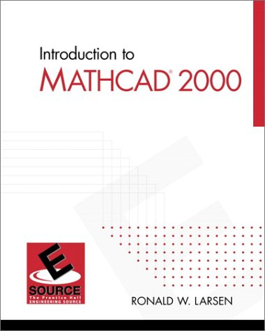 9780130200075: Introduction to MathCAD 2000