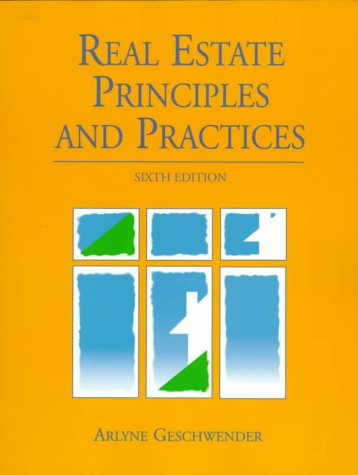 9780130200235: Real Estate Principles and Practices