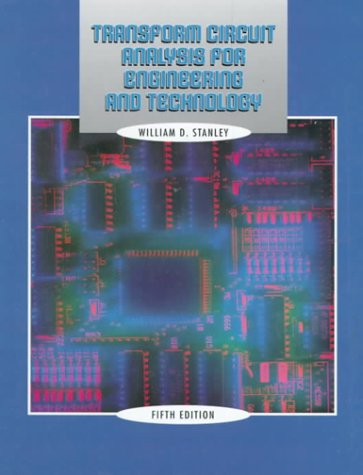 9780130200358: Transform Circuit Analysis for Engineering and Technology (4th Edition)