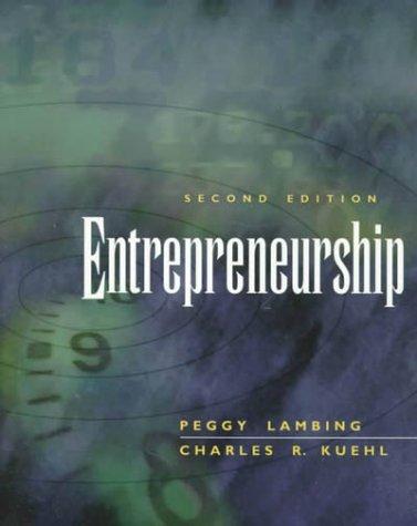 9780130200433: Entrepreneurship