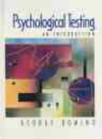 9780130201430: Psychological Testing: An Introduction