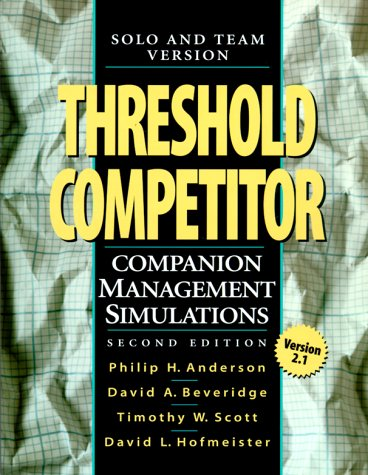 9780130202376: Threshold Competitor: Team and Solo Versions (2nd Edition)