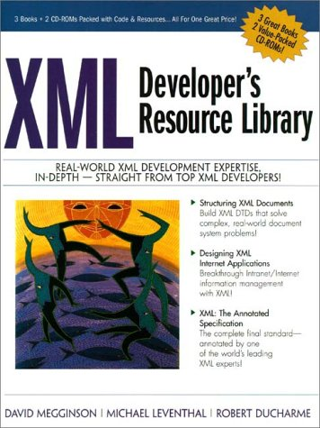 9780130203113: XML Developer's Resource Library