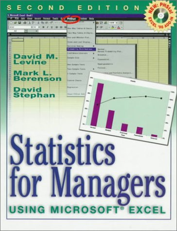 9780130203120: Statistics for Managers Using Microsoft Excel (2nd Edition)