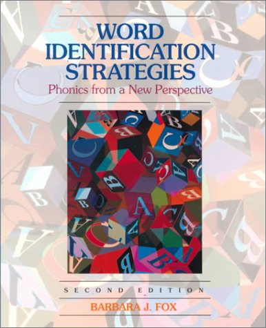 9780130203427: Word Identification Strategies: Phonics From a New Perspective (2nd Edition)