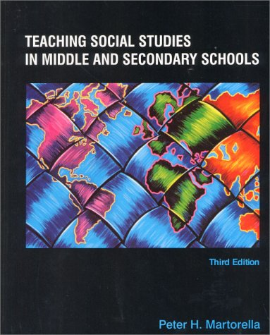 9780130203601: Teaching Social Studies in Middle and Secondary Schools (3rd Edition)