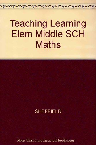 9780130203687: Teaching and Learning Elementary and Middle School Mathematics