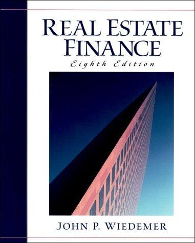 9780130204530: Real Estate Finance