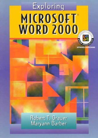 9780130204899: Exploring Microsoft Word 2000