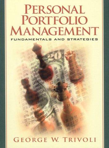 9780130204950: Personal Portfolio Management: Fundamentals and Strategies
