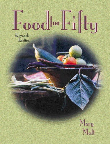 9780130205353: Food for Fifty (11th Edition)