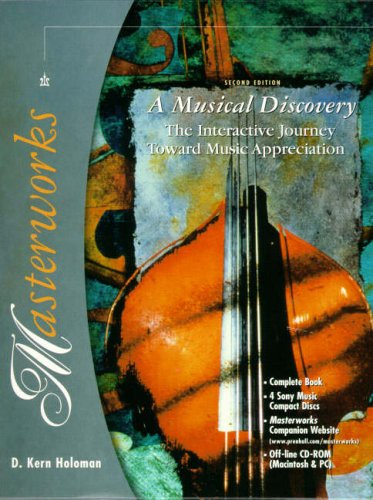9780130205438: Masterworks: A Musical Discovery