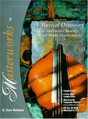 9780130205438: Masterworks: A Musical Discovery (2nd Edition)