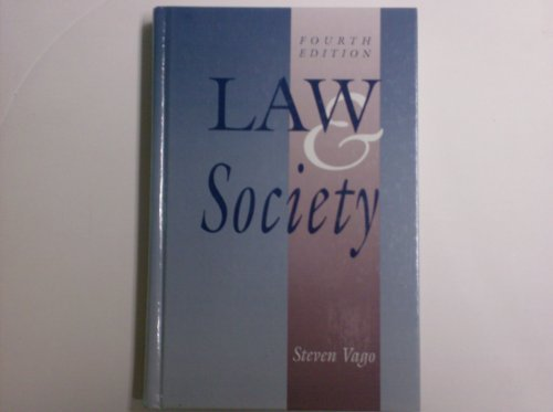 9780130205537: Law and Society