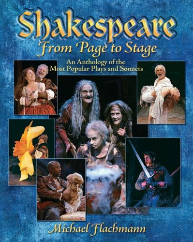 9780130207548: Shakespeare, From Page to Stage: An Anthology of the Most Popular Plays and Sonnets