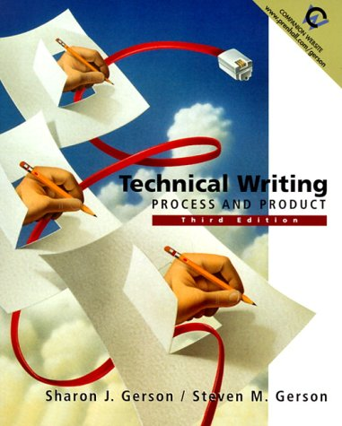 9780130208712: Technical Writing: Process and Product (3rd Edition)