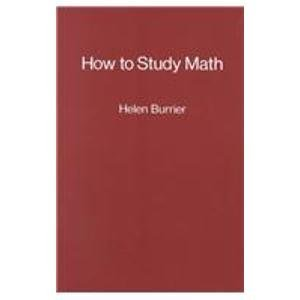 9780130208842: How to Study Mathematics
