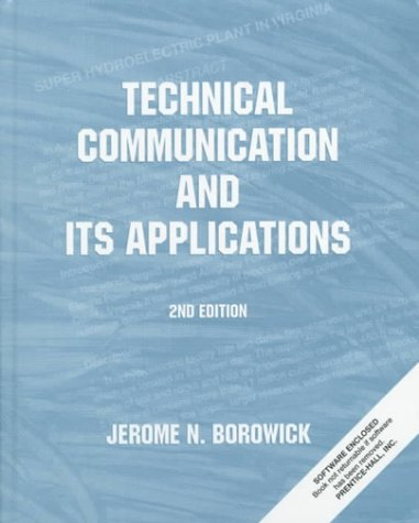 9780130209962: Technical Communication and Its Applications (2nd Edition)