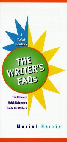 9780130210258: The Writer's Faqs: Professional Version: A Pocket Handbook